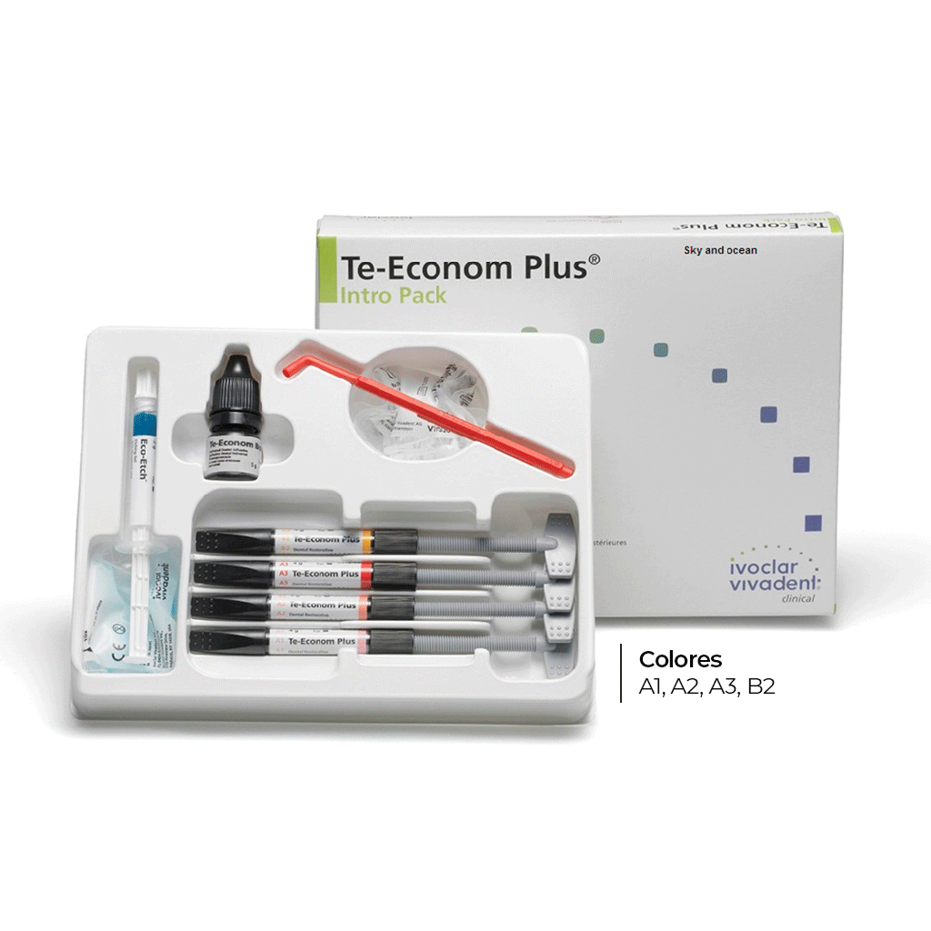 KIT Composite TE-ECONOM PLUS Intro pack, , 4 jer. + adhes.+ ácido. IVOCLAR