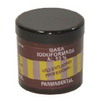 Gasa iodoformada al 10%. FARMADENTAL
