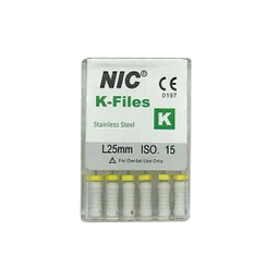 [C008162] Limas K. Primera serie NIC. 25mm. caja x 6u. SUPERLINE